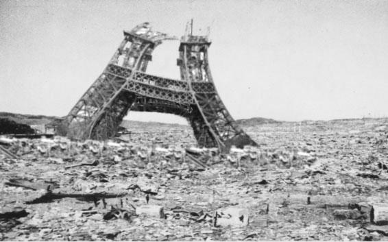 Paris détruit